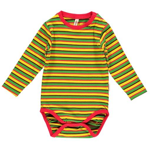 Lime green organic velour toddler rib pants joggers from Maxomorra (12-18m) 2