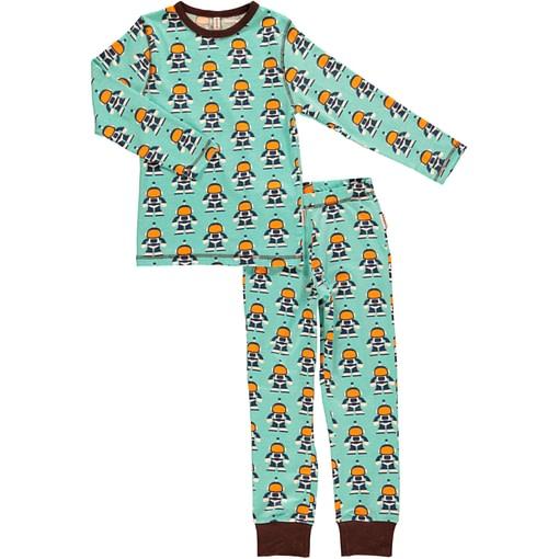 Maxomorra organic cotton pyjamas in space astronauts print (age 4-6) 1