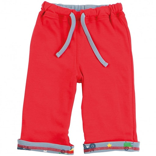 Tractor reversible trousers by Piccalilly in organic cotton 2