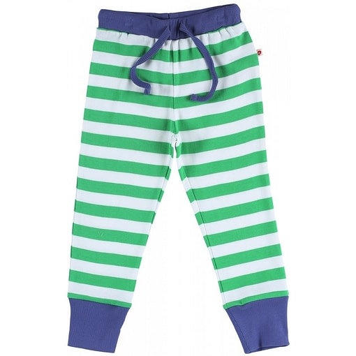 Jungle stripe pyjamas by Piccalilly in organic cotton (Age 1-2) 3
