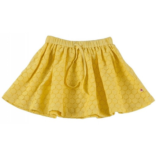 Piccalilly organic cotton yellow buttercup skirt