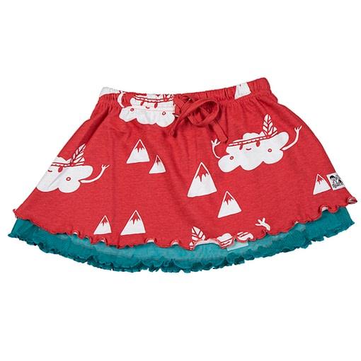 Doodle do organic cotton cloud mountain skirt (18-24m) 1