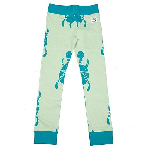 Doodle do organic cotton racing tortoise leggings (18-24m) 1