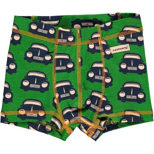 Maxomorra organic cotton retro car print boxers (18-24m) 1