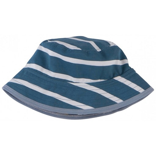Lizard reversible sun hat by Piccalilly in organic cotton 4