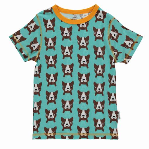 Maxomorra dog print t-shirt