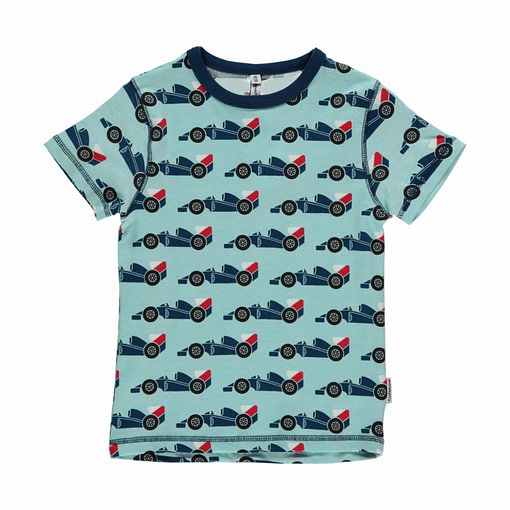 Racing car t-shirt by Maxomorra in organic cotton