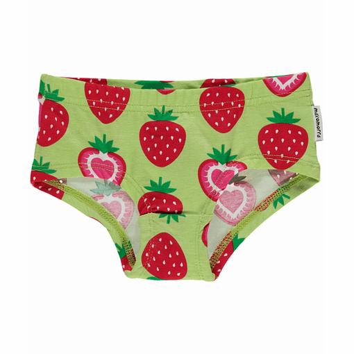 Strawberry print Maxomorra organic cotton knickers