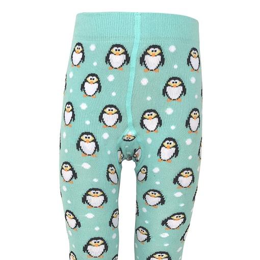 Slugs and Snails Chill organic cotton unisex penguin tights 4