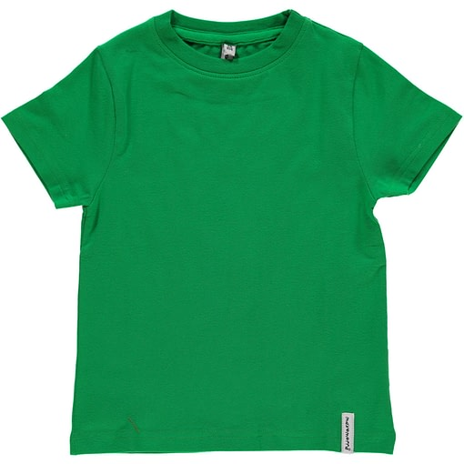 Maxomorra basic organic t-shirt in red | yellow | green | purple | turquoise | orange 6