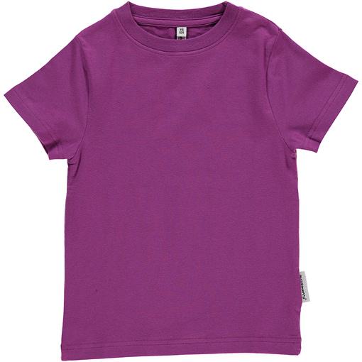 Maxomorra basic organic t-shirt in red | yellow | green | purple | turquoise | orange 4