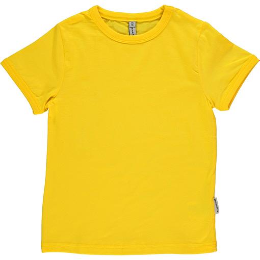 Maxomorra basic organic t-shirt in red | yellow | green | purple | turquoise | orange 5