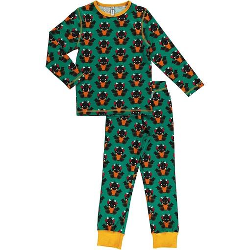 Maxomorra organic cotton pyjamas in dragon print (98-104cm Age 2-4) 1