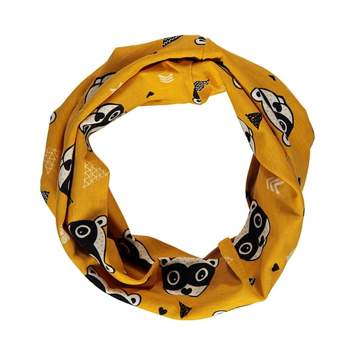 Bandit organic cotton tube scarf from Maxomorra 1