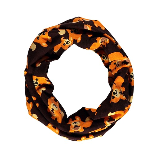 Squirrel organic cotton tube scarf from Maxomorra (Todlle 68/92) 1