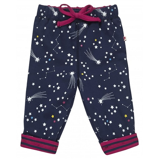 Galaxy reversible trousers by Piccalilly in organic cotton 1