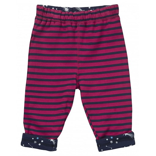 Galaxy reversible trousers by Piccalilly in organic cotton 2