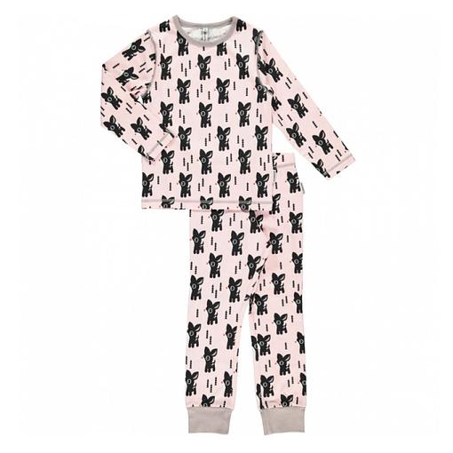Maxomorra organic cotton pyjamas in little bambi deer print (122-128cm 6-8 years) 1