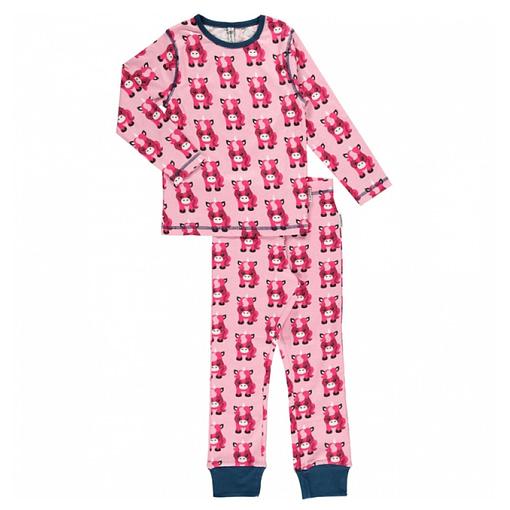 Maxomorra organic cotton pyjamas in unicorn design (110-116cm Age 4-6) 1