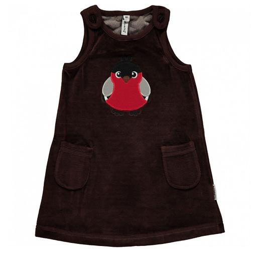 Bird organic cotton long sleeve bodysuit - Maxomorra 4