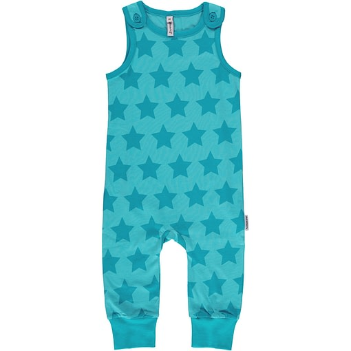Star dungarees from Maxomorra Mono in organic cotton 1