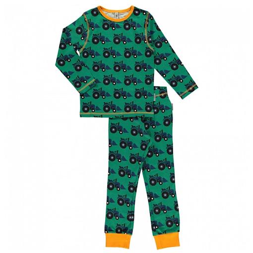 Maxomorra organic cotton tractor pyjamas (134-140cm Age 8-10) 1