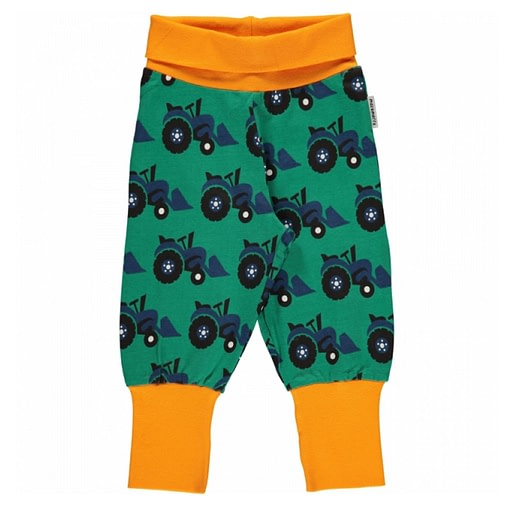 Tractor organic cotton baggy rib trousers from Maxomorra (86cm 12-18m) 1