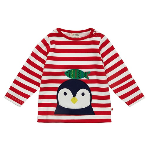 Penguin top by Piccalilly on organic cotton 1