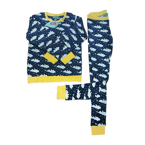 Slugs and Snails Lemon Lightning organic cotton pyjamas 86cm (12-18m) 1