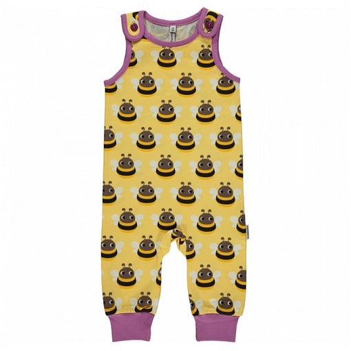 Bumblebee dungarees by Maxomorra in organic cotton 1