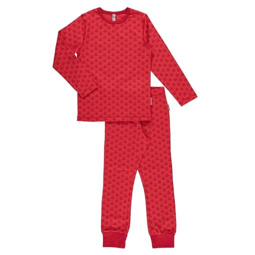 Maxomorra organic cotton pyjamas in robots design 1