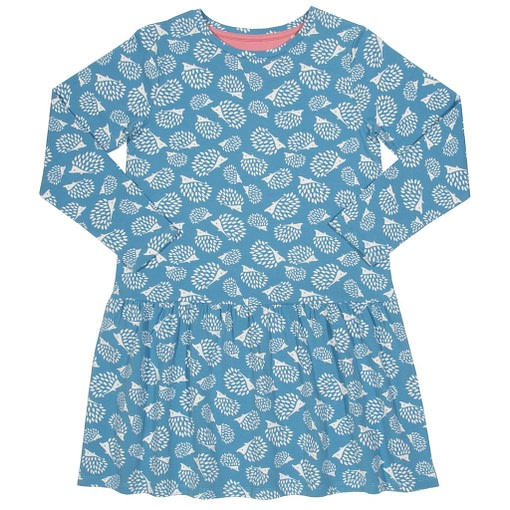 Hedgehogs dress in organic cotton by Kite 1
