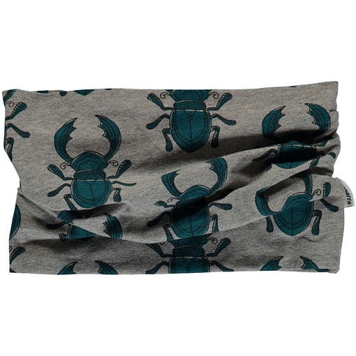 Beetles organic cotton tube scarf from Maxomorra 1