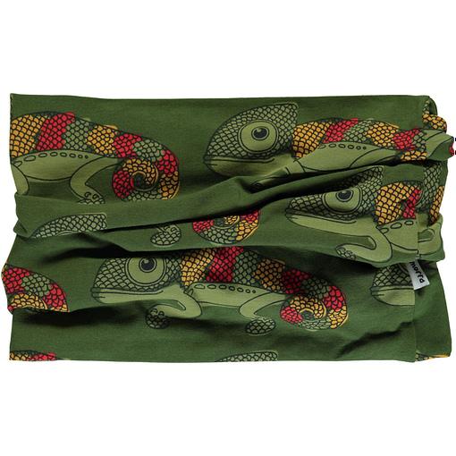 Chameleon organic cotton tube scarf from Maxomorra 1