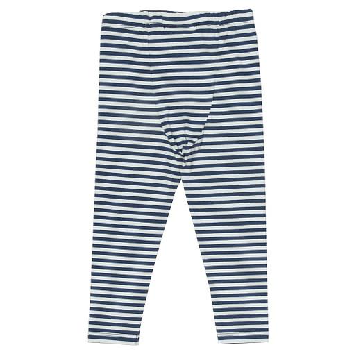 Kite navy mini stripy leggings organic cotton by Kite 2