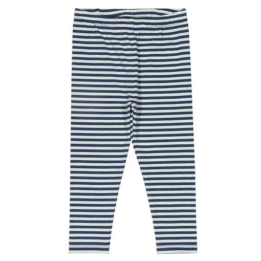 Kite navy mini stripy leggings organic cotton by Kite 1