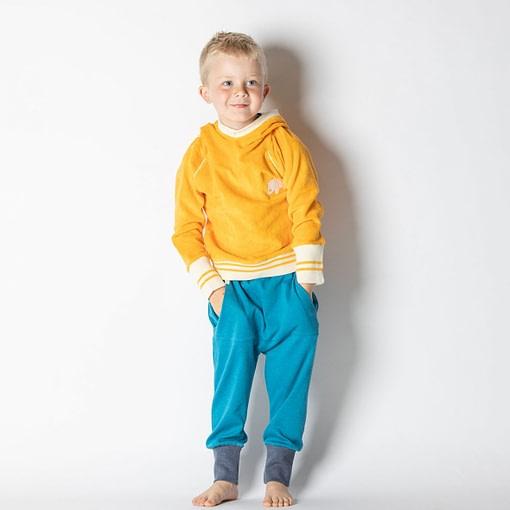 Habian hoodie in beeswax by Alba of Denmark (98cm 2-3Y) 3
