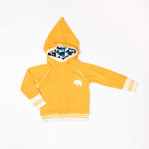 Habian hoodie in beeswax by Alba of Denmark (98cm 2-3Y) 1
