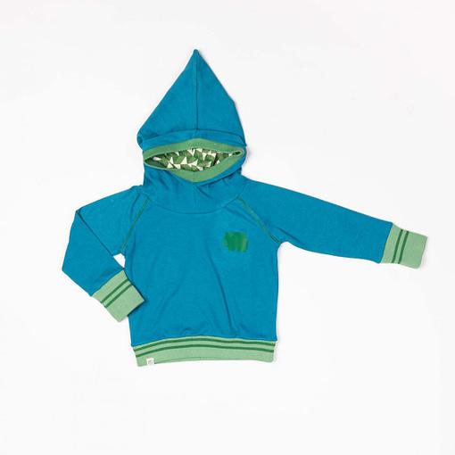 Habian hoodie in seaport by Alba of Denmark (98cm 2-3Y) 1