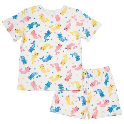 Mercat print pyjamas in organic cotton by Kite 1