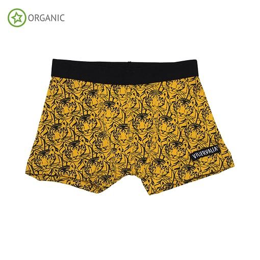 Villervalla organic cotton boxers - Tiger (110-116cm age 4-6) 1