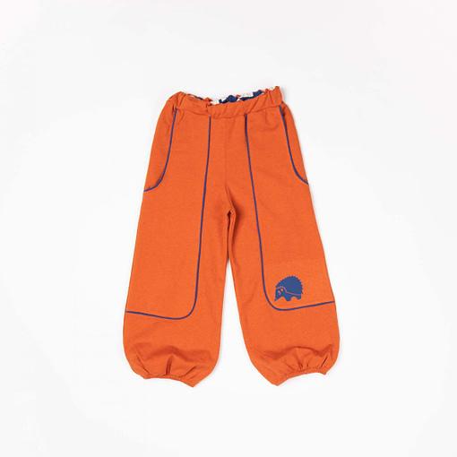 Hobo baggy pants in rust by Alba of Denmark 1