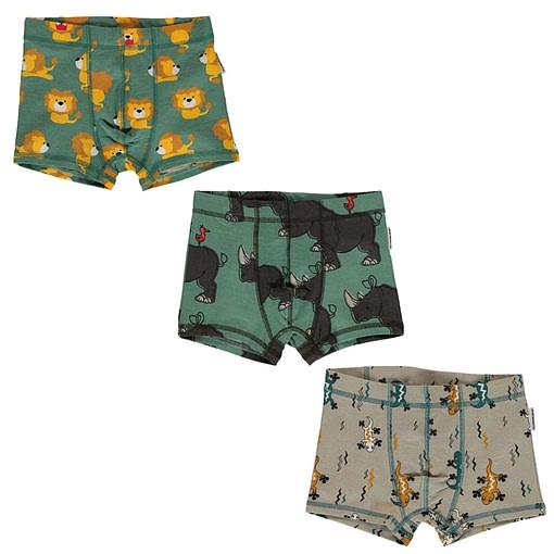 Maxomorra organic cotton boxers | Rhino 98/104 3-4 years 1