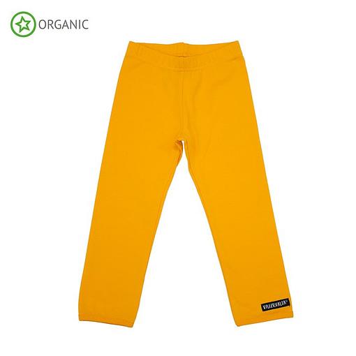 Villervalla mango orange organic cotton leggings (7 years 122cm) 1
