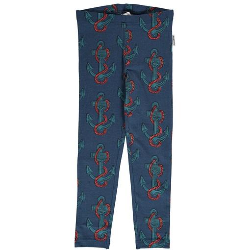 Anchor organic cotton leggings from Maxomorra (122/128 6-8) 1