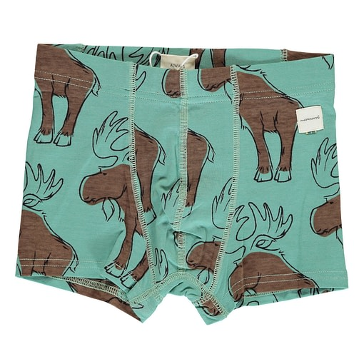 Maxomorra organic cotton boxers | Busy Squirrel | Mighty Moose | Curious Otter 5