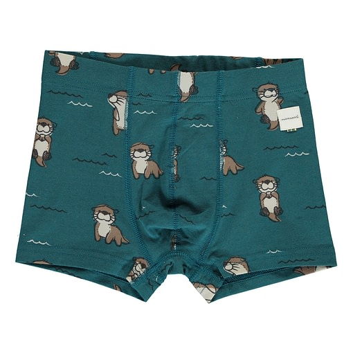 Maxomorra organic cotton boxers | Busy Squirrel | Mighty Moose | Curious Otter 6