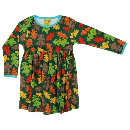 DUNS Sweden oak organic cotton twirly dress (104cm 3-4 years) 1