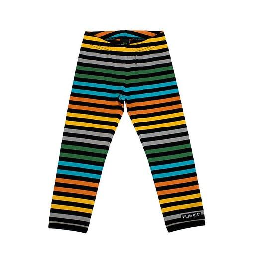 Villervalla city stripe organic cotton leggings 1