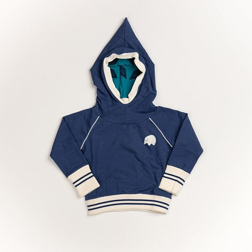 Habian hoodie in Blueprint by Alba of Denmark (104cm Age 3-4) 1